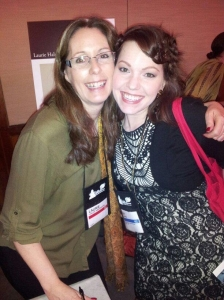 Amy Oelkers and Laurie Halse Anderson